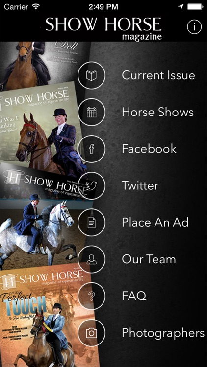 Show Horse Magazine screenshot-0