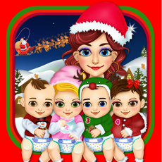 Activities of Mommy's Christmas Baby Salon Doctor - my hair spa santa makeover for kids!