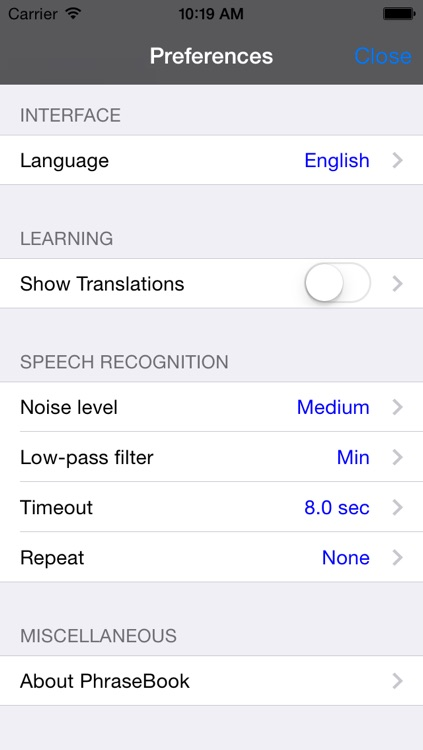 English-Serbian Talking Travel Phrasebook screenshot-3