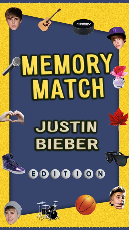Memory Match - Justin Bieber Edition! screenshot-0