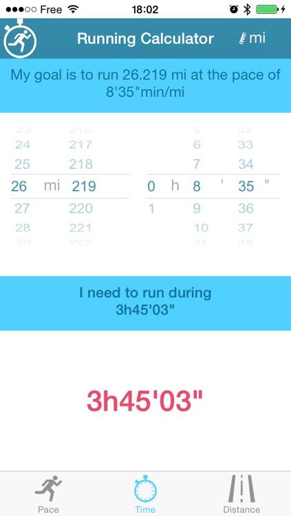 The Running Calculator