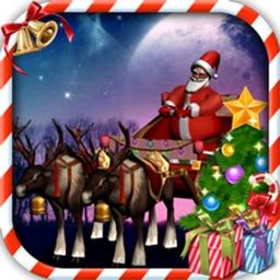 Santa Claus Sleigh Parking 3D