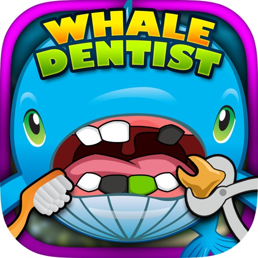 Fun Whale Dentist - Big teeth in the ocean of fish