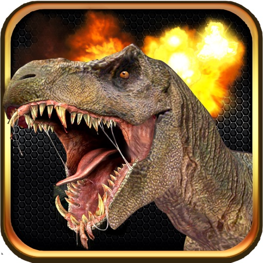 Angry Dino Rampage - T-Rex Hunter Edition
