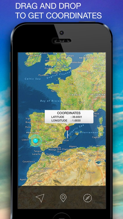Coordinates - Your GPS Coordinates, Altitude, Compass screenshot-3