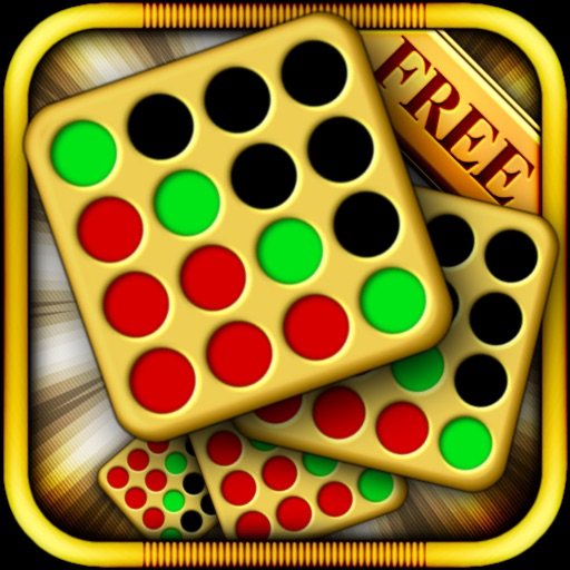 Four In A Row [ HD ] Free - Logic Puzzle Line Game for iPad & iPhone iOS App