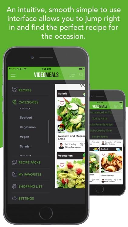 VideoMeals - Quick Simple Healthy Recipes screenshot-4