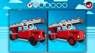 Camions de Pompiers : Puzzles, Coloriages et autres jeux pour enfants