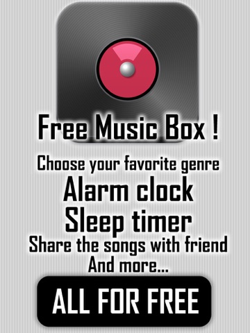 My Music Box player - Favourite on line radio stations playing