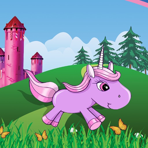A Unicorn Pony Letters - Little Fairy Horse Pet Adventure