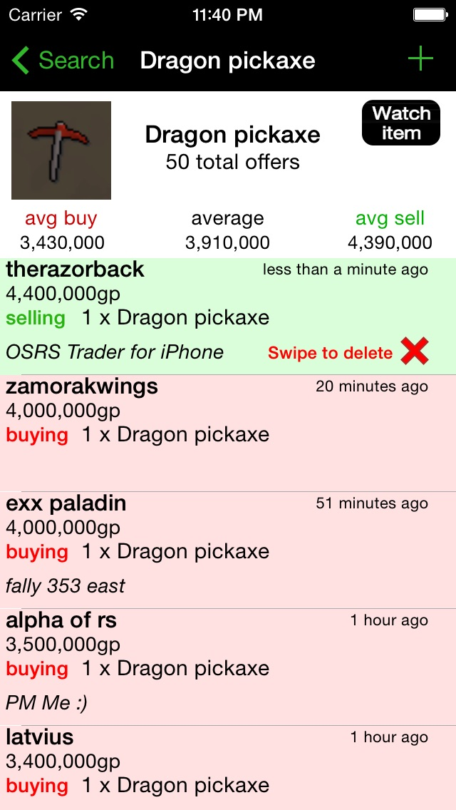 OSRS Trade Assistant