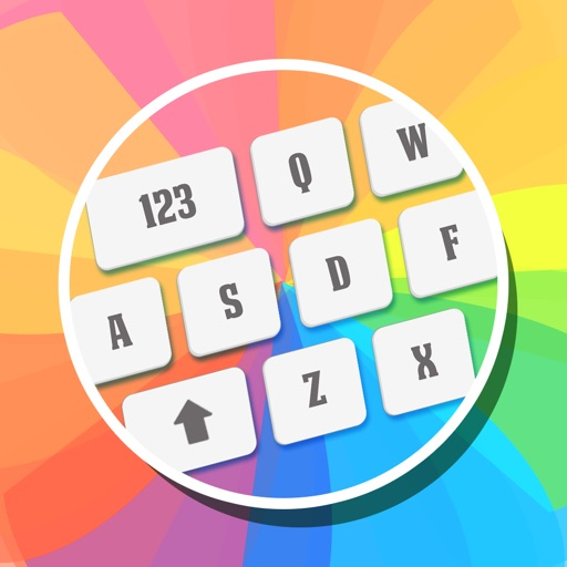 My Fancy Keyboard Themes - Colorful Keyboards for iPhone,iPad & iPod icon