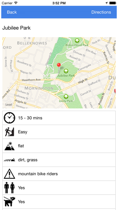Dunedin Walking Trails App 3