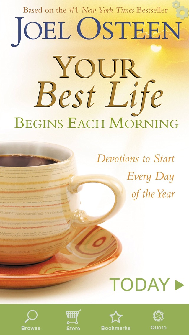 Screenshot for Your Best Life Begins Each Morning in United States App Store