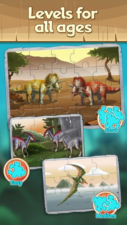 Discovery Kids Dinosaur Puzzle & Play screenshot-3
