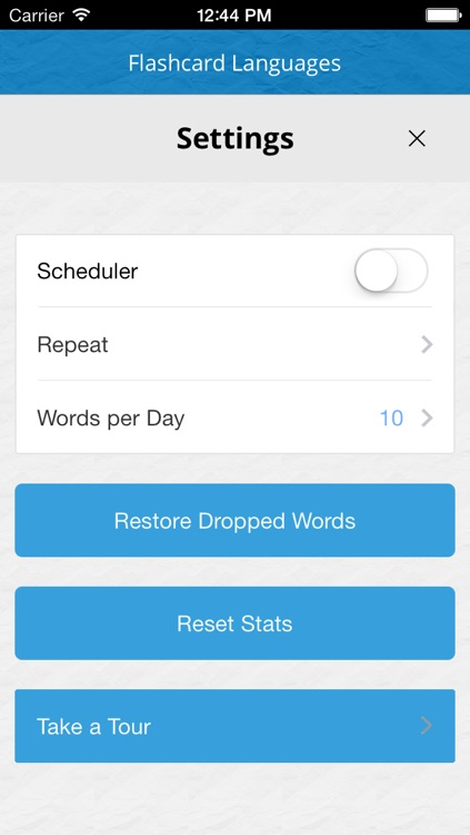 Flashcard Languages - Learn To Speak Multiple New Languages with Flashcards screenshot-3