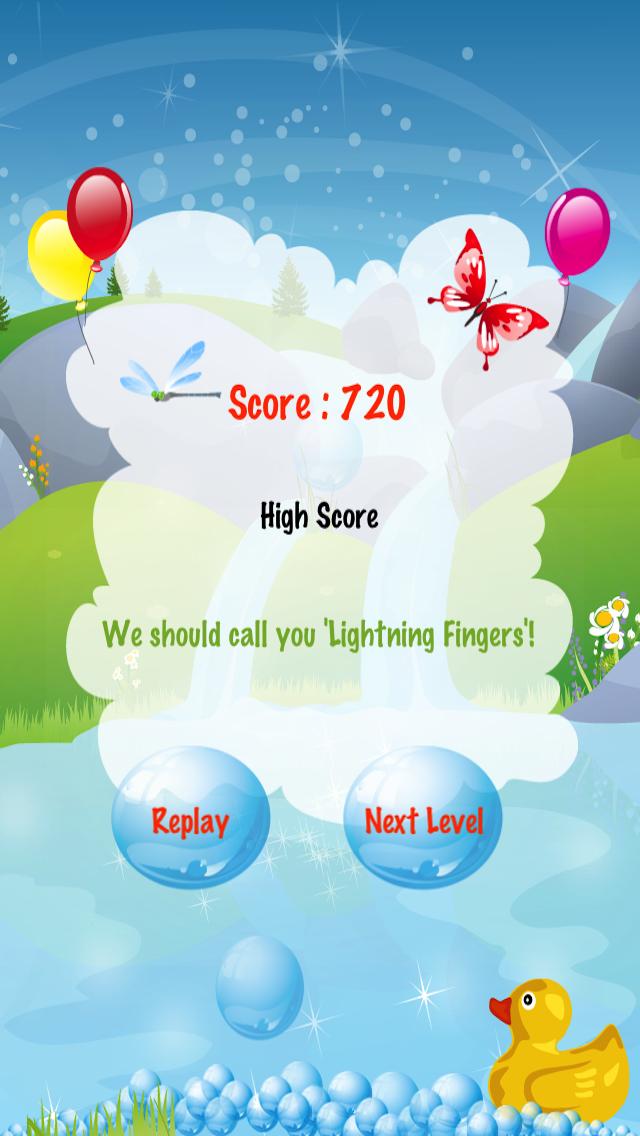 Bubble Bath Typing Free screenshot four
