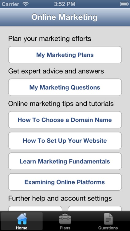 Online Marketing & Advertising Strategy