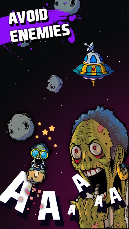FreeZom - Flying Adventure of Zombie screenshot-3