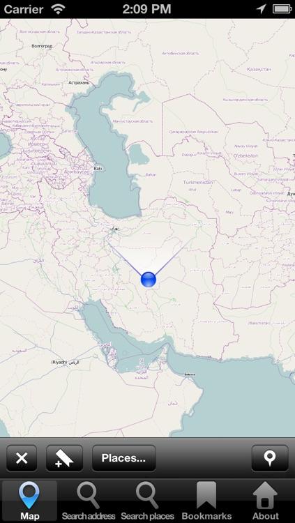 Offline Map Iran: City Navigator Maps