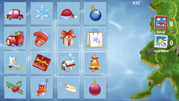 Concentration Cards Matching Game: Find Pairs & Train Your Memory Skills if you're preschoolers, schoolchildren, adults or seniors suitable from 2 to 100 years - for iPad 1, 2, 3, 4 and iPhone 3, 4, 5 HD screenshot-4