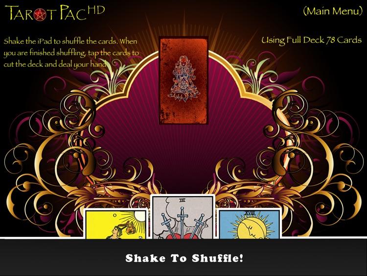 TarotPac Tarot Cards HD Free screenshot-4