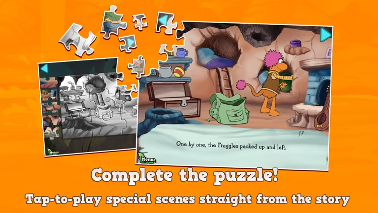 Fraggle Friends Forever Puzzle & Play screenshot-3