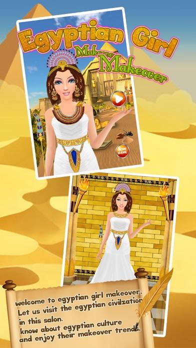 点击获取Egypt Princess Romaa Makeup Makeover & Dress up Salon girls games