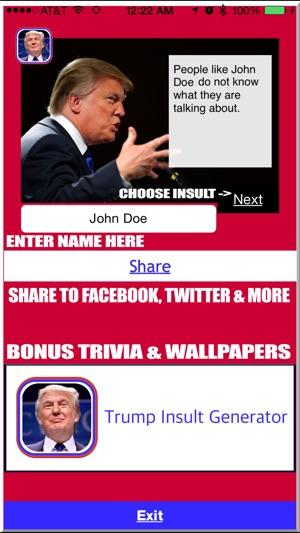 300x0w trump insult generator on the app store