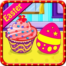 Activities of Cooking Creamy Easter Cupcakes-Kids and Girls Games