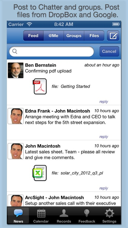 RocketSales for Salesforce and Chatter : Contact Management and Activity Logger screenshot-4