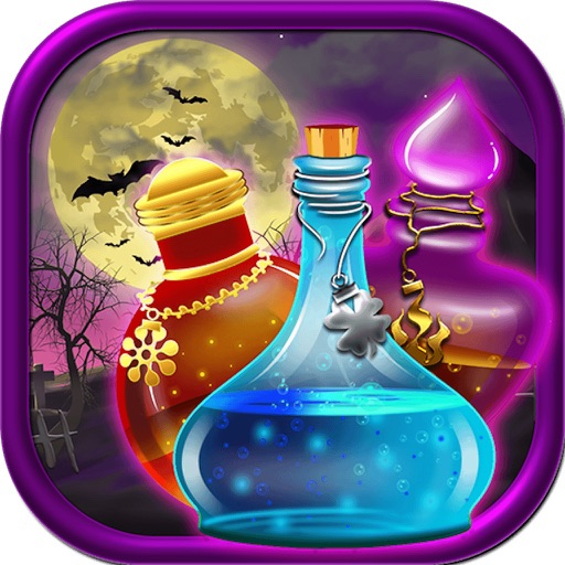 Magical Potions Match Link by MobiEos Software Private Ltd