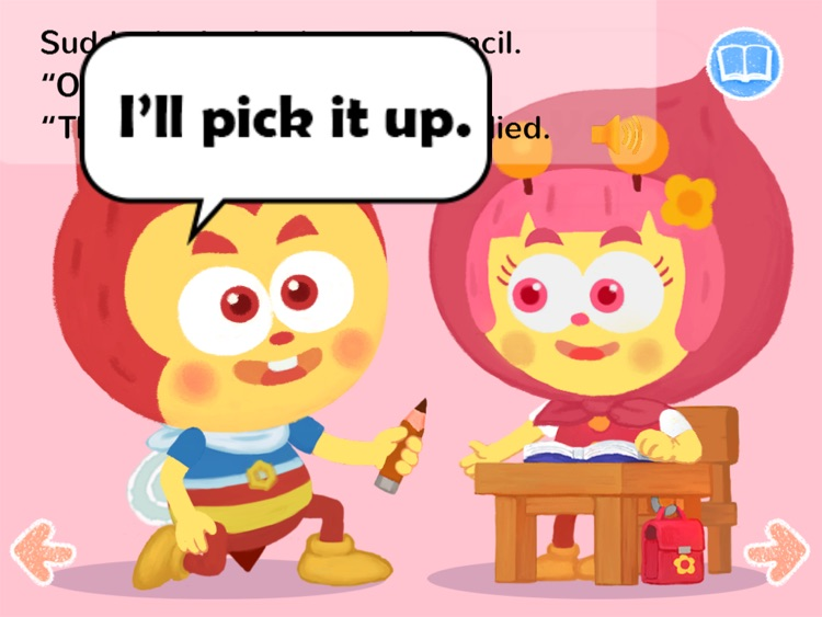 Kids Story Books-Lampi HD1 (preposition UP) screenshot-4