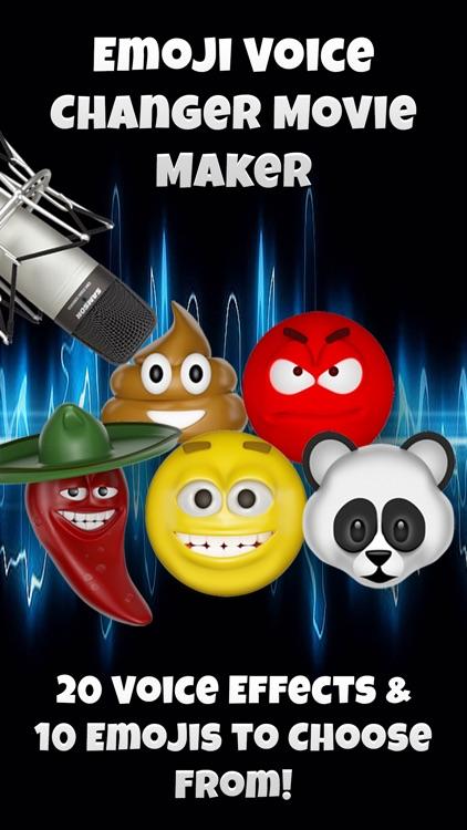 Talking Emoji Voice Changer Free - Crazy Helium Booth Fake Modifier Generator screenshot-4