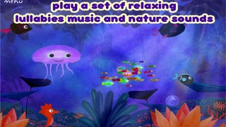 Lullaby Planet - sweet night song - bedtime music app for Baby infant and little children Screenshot 3