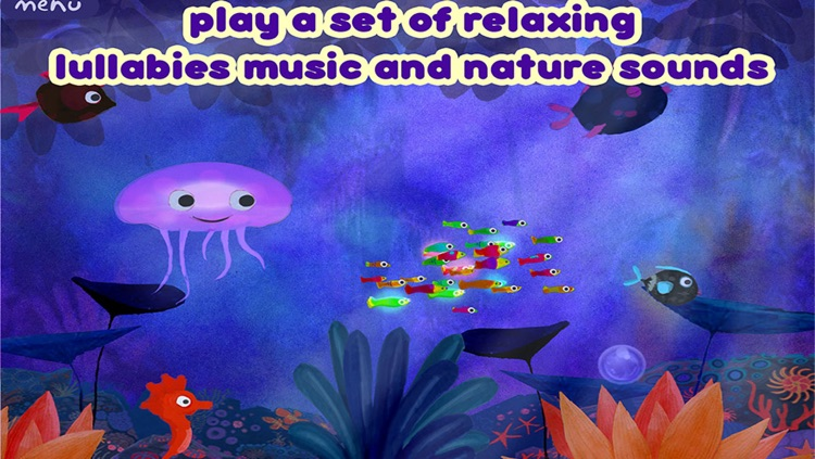 Lullaby Planet - sweet night song - bedtime music app for Baby infant and little children screenshot-2