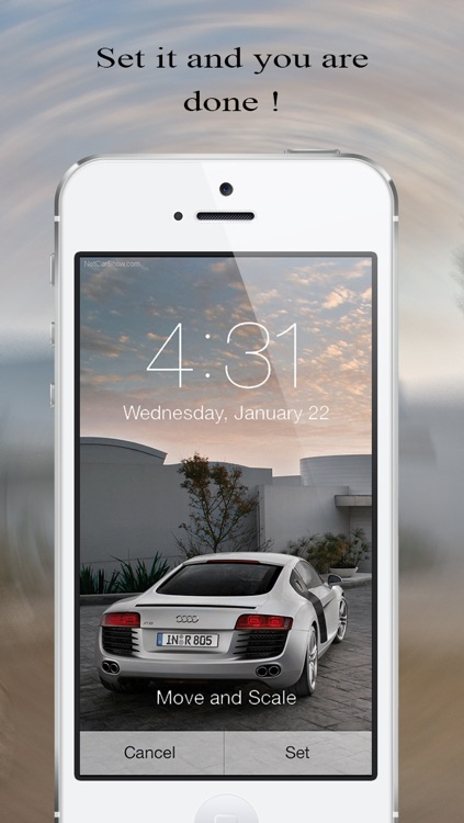 Wallpaper Fix & Fit Free- Scale, zoom, and position your background photos for iOS 7 home screen screenshot-3