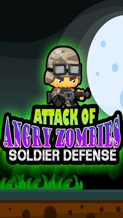 Attack of Angry Zombies - Soldier Defense screenshot-4