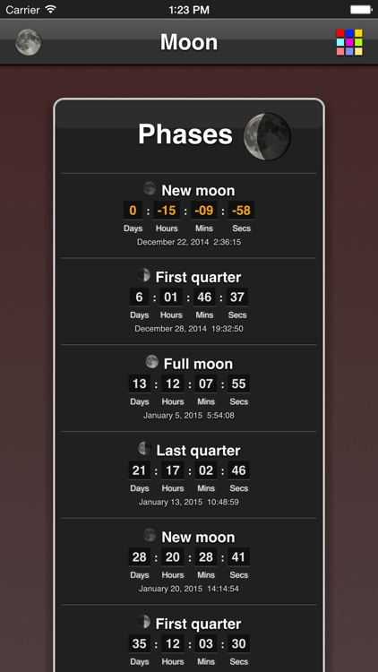 Moon Phases screenshot-0