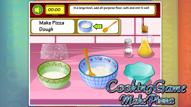 Cooking Games:Make Pizza