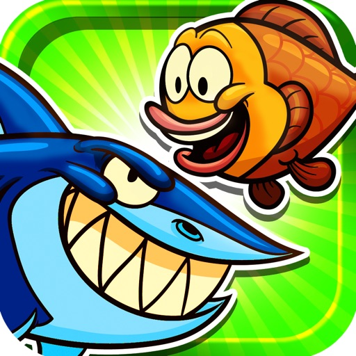 A Fish Versus Sharks Free Game icon