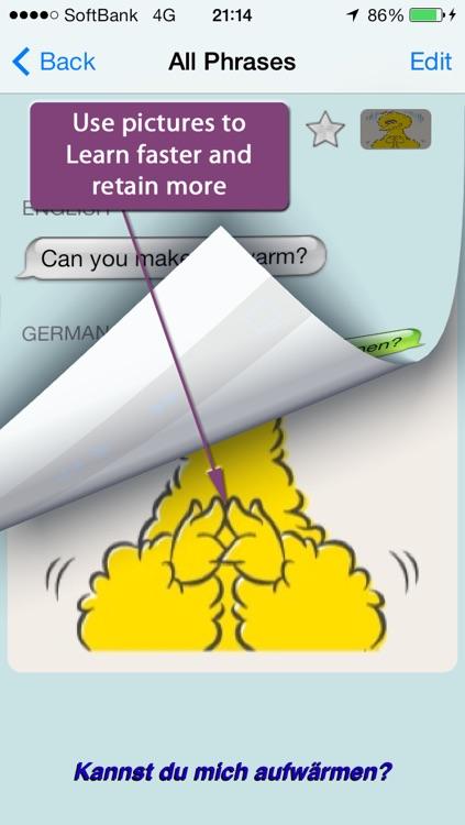 German - Talking English to German Translator and Phrasebook screenshot-3