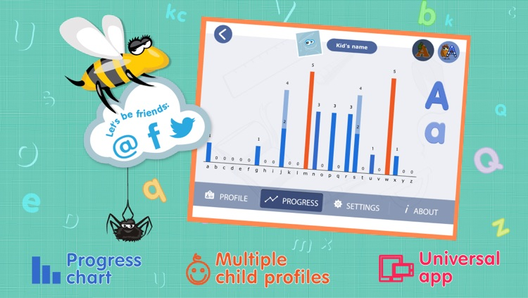 Kids Academy • Learn ABC alphabet tracing and phonics. Montessori education method. screenshot-3