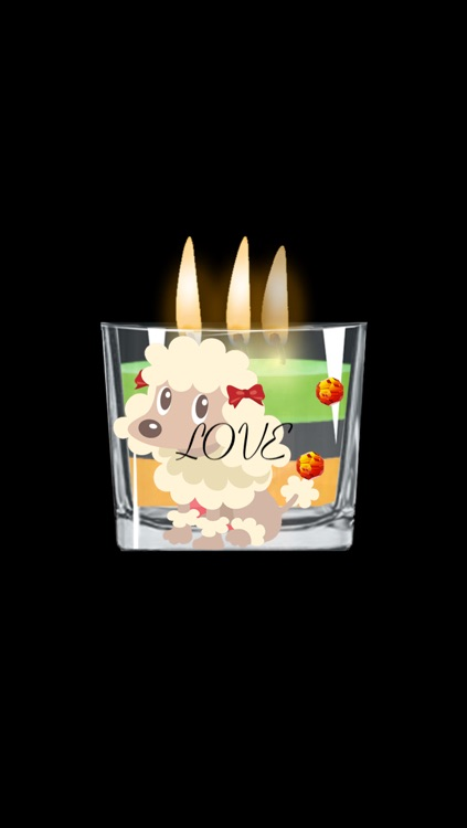 """!My Candles, with """"share"""" feature and collection of custom wicks and music. Lite"""