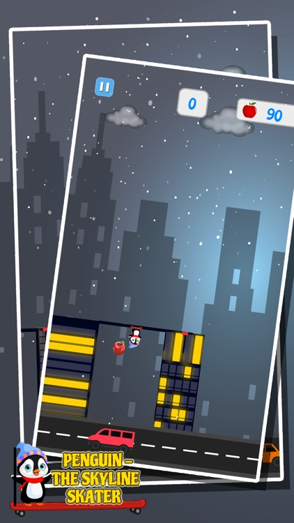 Penguin - The Skyline Skater screenshot-3
