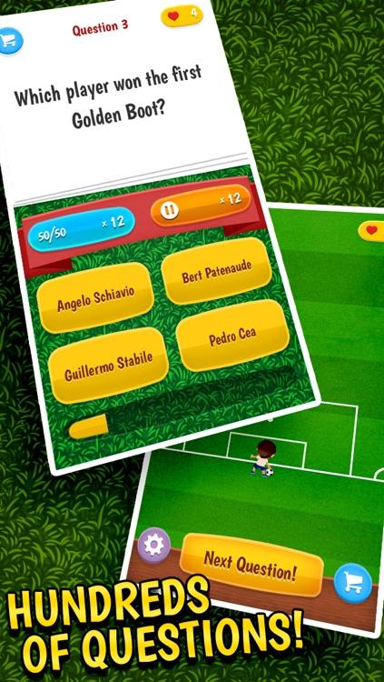 Soccer Quiz - a trivia game for football fans screenshot-4