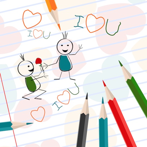 Coloring Kids Doodle: Coloring Book for Pre-school
