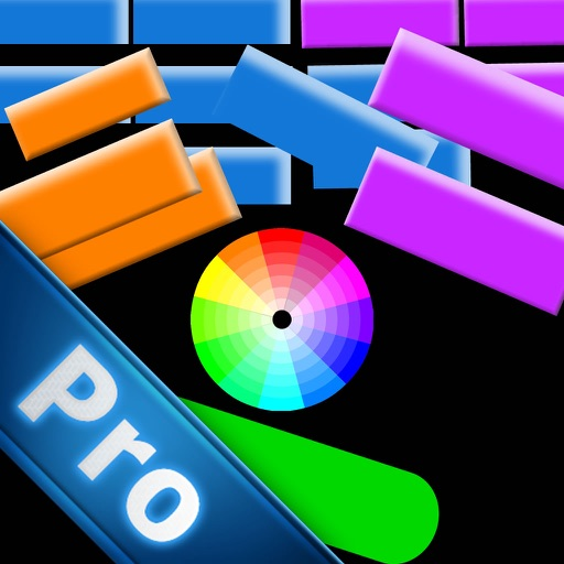 Broken Color Bricks Pro - Most Awesome Breakout Game Of World