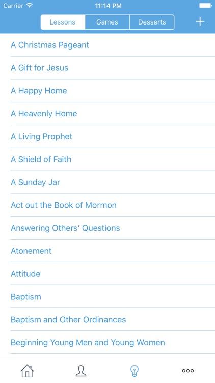 FHE Planner - The LDS Family Night App screenshot-4