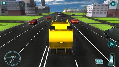 camión de la basura real de vuelo simulador 3D - La conducción de camiones de basura en laCaptura de pantalla de1